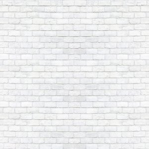 Adesivo de Parede Personalizado Tijolinho em Tons de Branco e Cinza Para Escritório, Corredor, Sala, Quarto Jovem