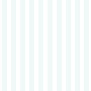 Adesivo de Parede Personalizado Listrado em Tons de Azul e Branco Para Quarto Infantil