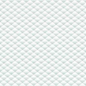 Adesivo de Parede Personalizado Gesso Branco Losango 3D, Para Quarto de Jovem, Sala, Escritório
