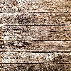 Adesivo de Parede Personalizado Tábua de Madeira Corrida Rústica Para Área Gourmet, Cozinha, Churrasqueira