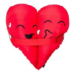 Almofada Abraçadinhos - Você é Minha Metade Favorita!