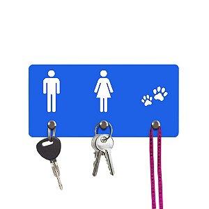 Porta chaves - Ele e Ela e Pets