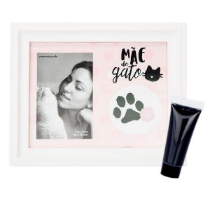 Porta Retrato - Mãe de Gato
