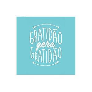 Placa Decorativa - Gratidão gera Gratidão