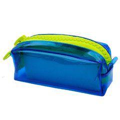 Necessaire Mega Ziper - Azul