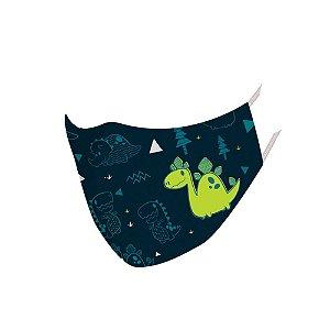 Máscara de Proteção - Dino