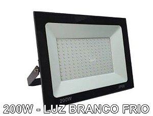 REFLETOR LED 200W SLIM LUZ BF