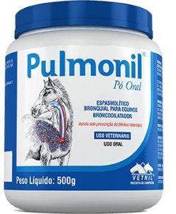 Pulmonil Pó 500 Gramas - Clembuterol Vetnil