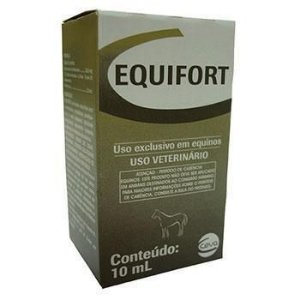 Equifort Injetável - Boldenona - 10 ml