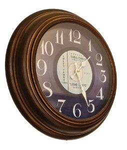 Relógio De Parede - 45cm de Diâmetro - Love Lasts