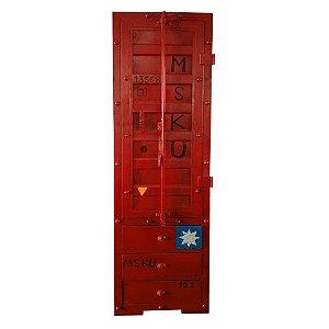 Armário Container Vermelho
