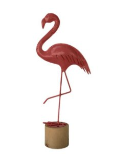 Escultura Flamingo Decorativa