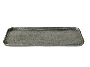 Bandeja Retangular de Alumínio Fundido