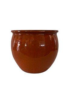 Vaso de Cerâmica Vietnamita Marrom Claro
