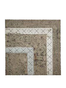 Quadro Abstrato Texturizado 1,00m X 1,00m - Tela em Alto Relevo