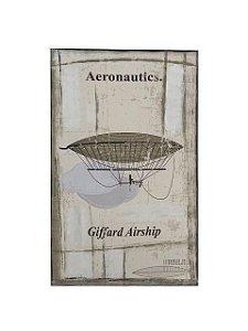 Quadro Aeronautics 0,80m X 0,50m - Tela Impressa