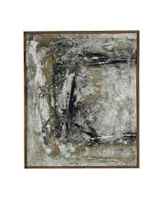 Quadro Abstrato 0,60m X 0,50m - Acrílico Sobre Tela