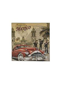 Quadro México 0,50m X 0,50m - Tela Impressa