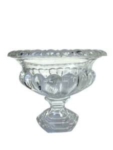 Centro de Mesa Decorativo de Vidro Tipo Vaso