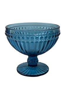 Taça de Vidro Azul