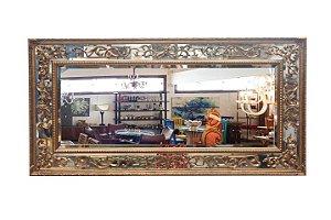 Espelho Retangular Barroco em Resina