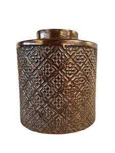 Pote Decorativo em Cerâmica Modelo Envelhecido