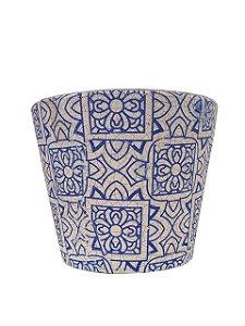 Vaso para Suculenta Cachepô Mosaico Fosco