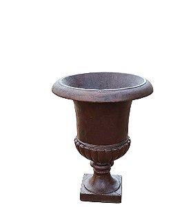 Ânfora de Ferro Fundido Liso Século XIX Pequena
