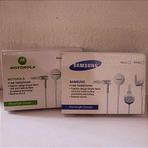 HEADPHONES - SAMSUNG E MOTOROLA