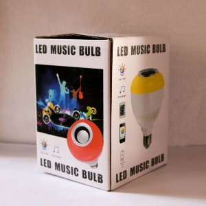 LED MUSIC BULB - PLAY MUSIC