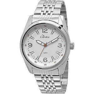 Relógio Condor Masculino Prata Co2035kqc/3k