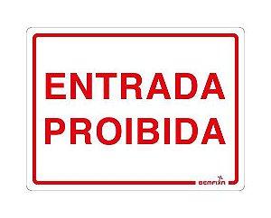 ENTRADA PROIBIDA 6694