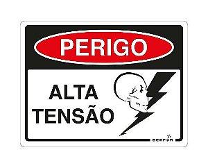 PERIGO ALTA TENSÃO 6666