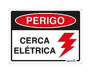 PERIGO CERCA ELÉTRICA 6664