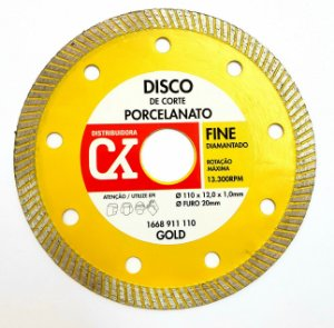 Disco Diamantado Fine 110 mm x 12,0 x 1,0 mm