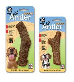 PET QWERKS TOYS Antler Wood