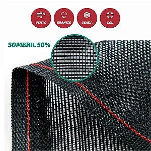 Tela Monofilamento Sombril 50% 3x50M