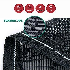 Tela Monofilamento Sombril 70% 3x50M