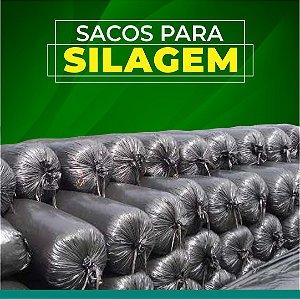 SACO PARA SILAGEM PRETO 55x110 - 10,9 KG 200 MICRAS 100 UNID