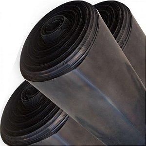 Lona Plástica Preta 6x150 90KG Ref 150 Micras