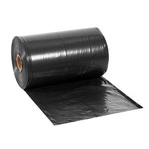 Lona Plástica Preta 6x150 90KG Ref 150