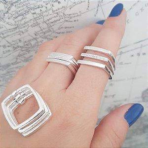 anel três aros