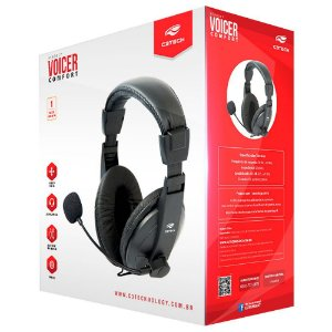 Fone Headset Gamer Comfort C3 Tech