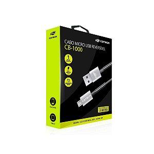 Cabo Micro USB Reversível