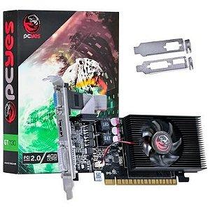 Placa de Vídeo GeForce GT 730 4GB DDR3 128 bits Pcyes