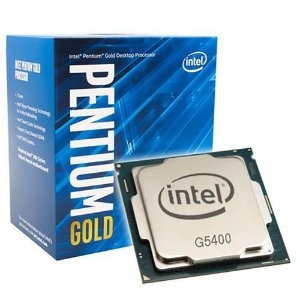 Processador Intel Pentium G5400 Gold 3.7Ghz LGA 1151