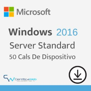 50 Cals de Dispositivo Windows Server 2016