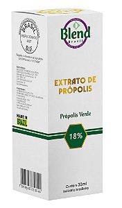Extrato de Própolis Verde min. 18% 30ml Blend Brasil