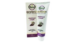 Gel Dental Natural Biofresh Própolis e Açaí Blend Brasil 120g