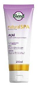 Loção Nutritiva para o Corpo Natural Spa Açaí Blend Brasil 200ml